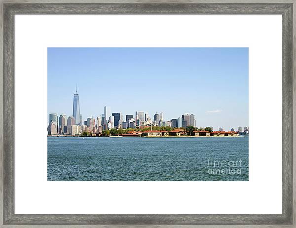 Ellis Island New York City Framed Print
