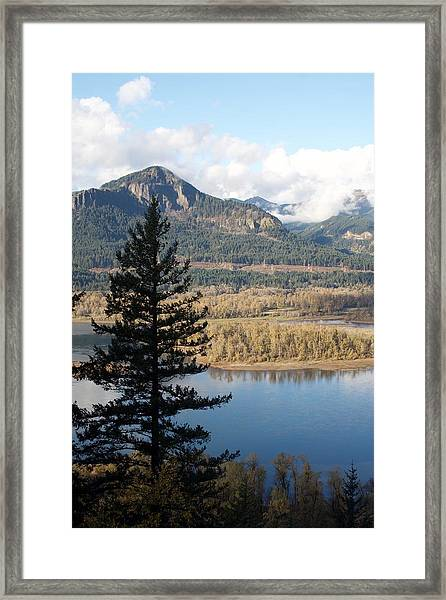 Framed Print featuring the photograph Elowah Solo Silhouette by Dylan Punke