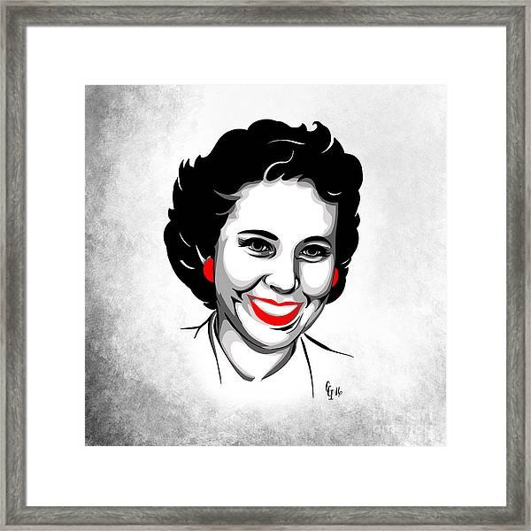 Elsie Framed Print