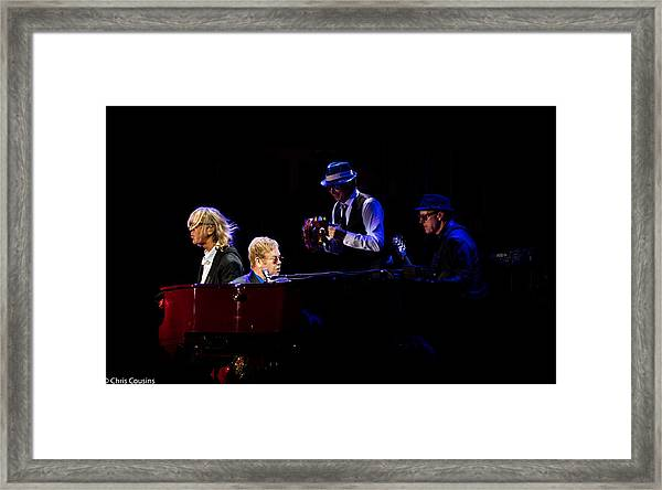 Elton - Gather Round Framed Print