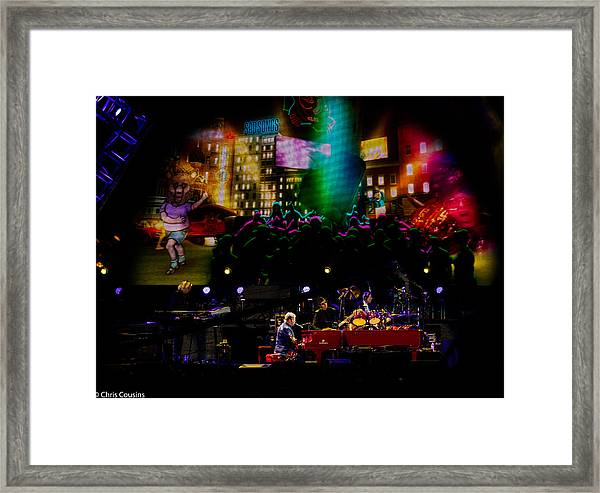 Elton - Sad Songs Framed Print