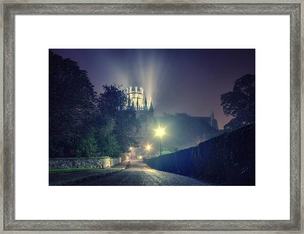 Ely Cathedral - Night Framed Print