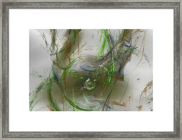 Embracing The Paradox Framed Print