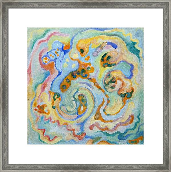 Embryonic Forms 4 Framed Print