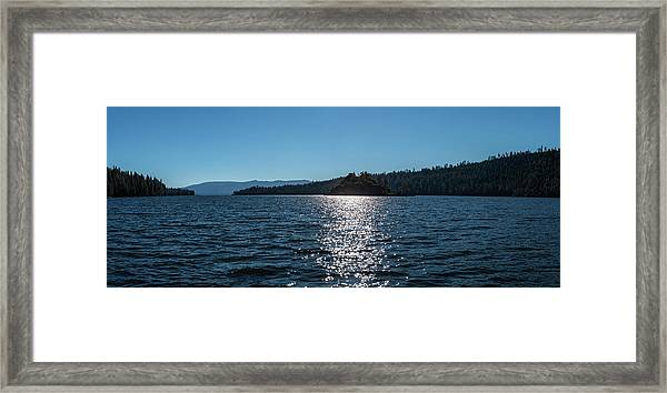 Emerald Bay - Panorama Framed Print