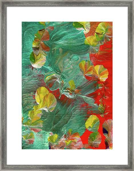 Emerald Island Framed Print