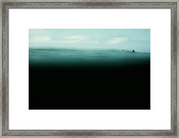 Emerald Framed Print