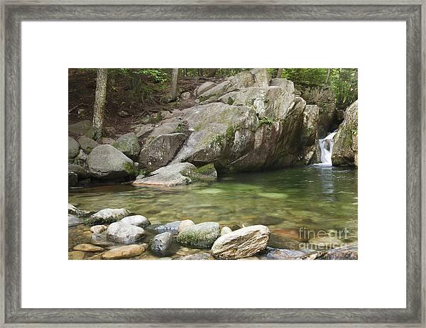 Emerald Pool - White Mountains New Hampshire Usa Framed Print