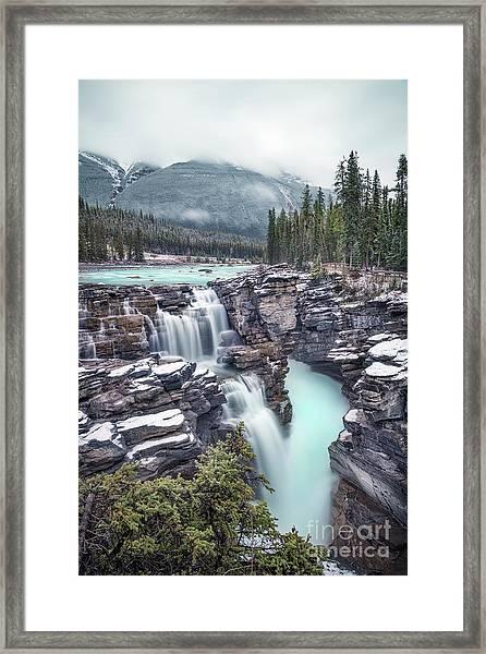 Emerald Rush Framed Print