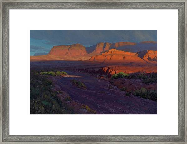 Emerging 24x36 Framed Print