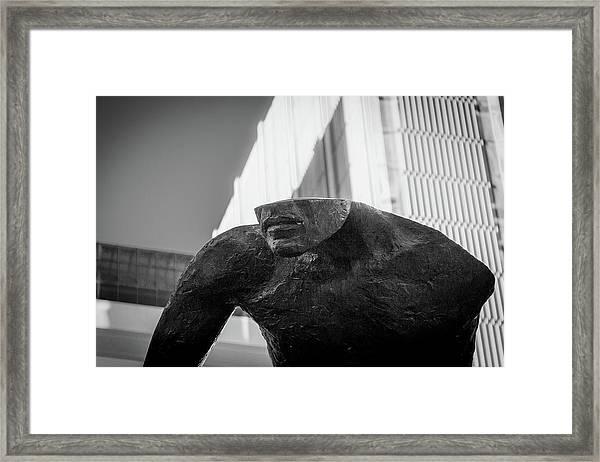 Emerging Framed Print