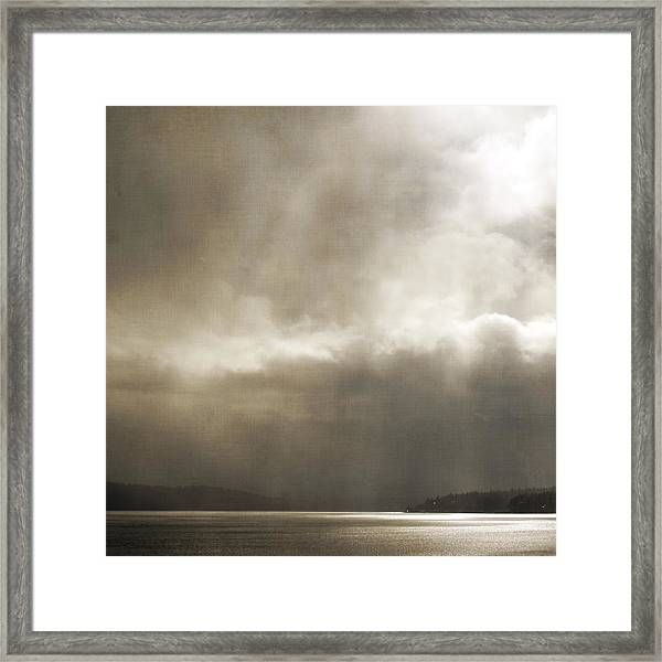 Emerging Light Framed Print