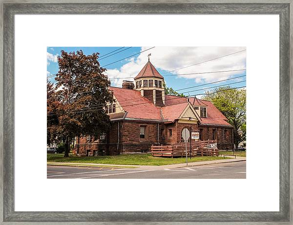 Emily Williston Memorial Library And Museum Framed Print