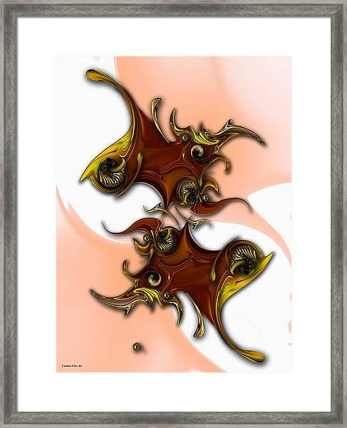 Emotion Vs Emotion Framed Print