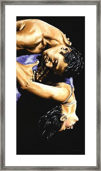 Emotional Tango Framed Print