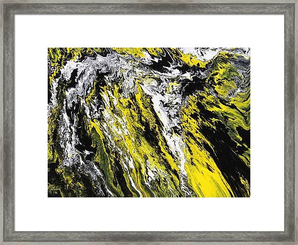 Emphasis Framed Print