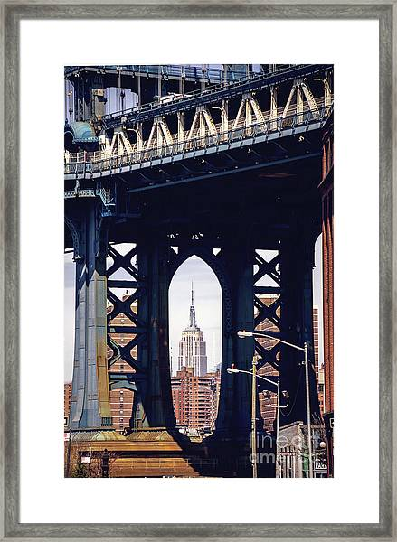 Empire Framed Framed Print