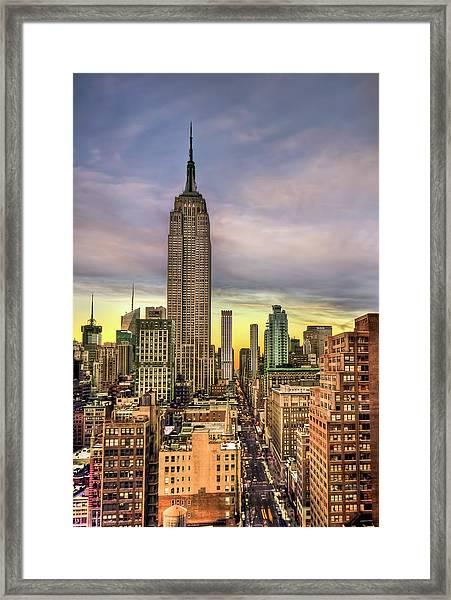 Empire State Of Mind Framed Print