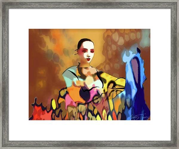 Empress Framed Print