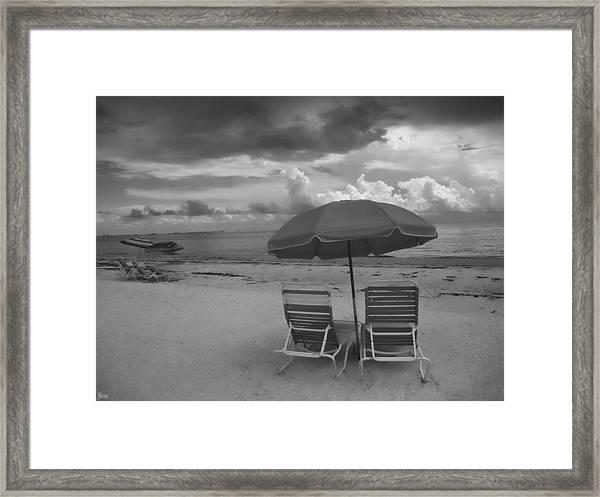 Emptiness Framed Print