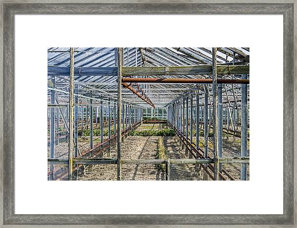 Empty Greenhouse Framed Print