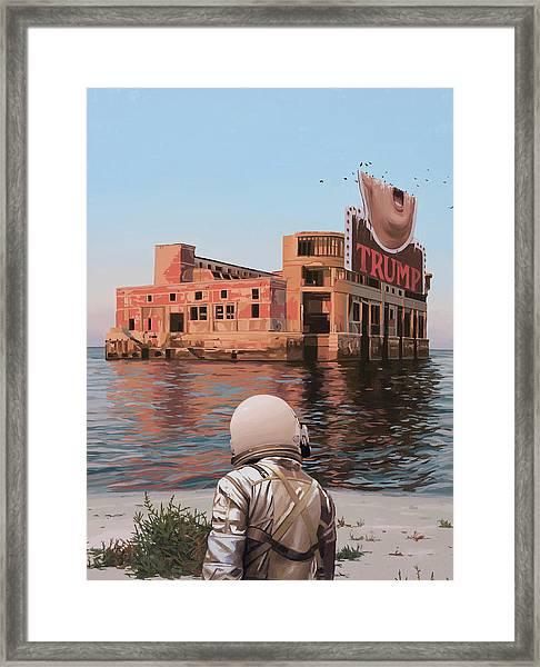 Empty Palace Framed Print