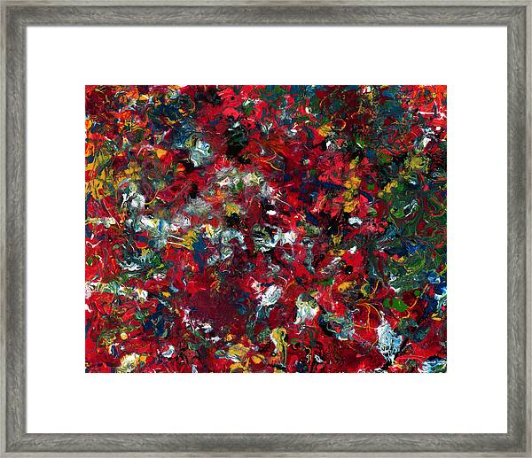 Framed Print featuring the painting Enamel 1 by James W Johnson