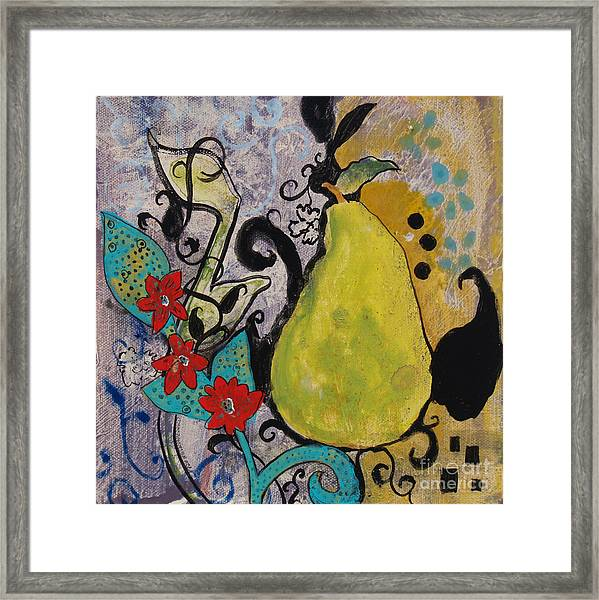 Enchanted Pear Framed Print