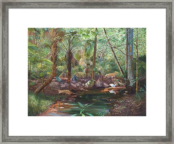 Enchanted Stream Framed Print