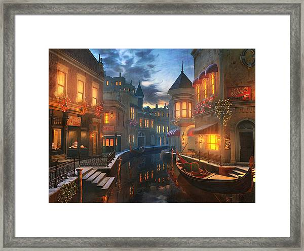 Enchanted Waters Framed Print