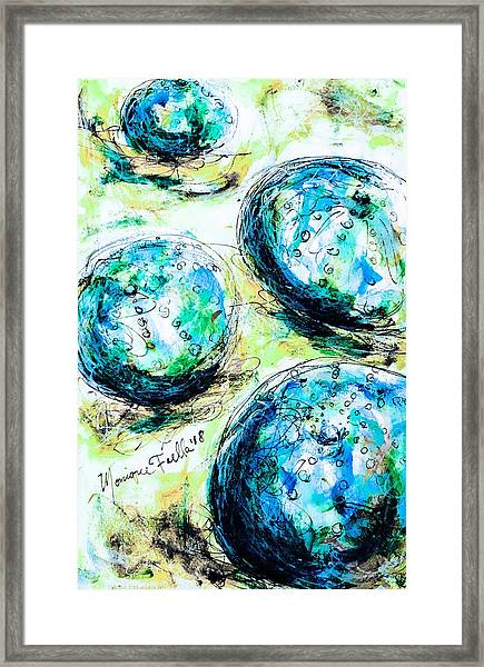 Enchanthing Sea Urchins Framed Print