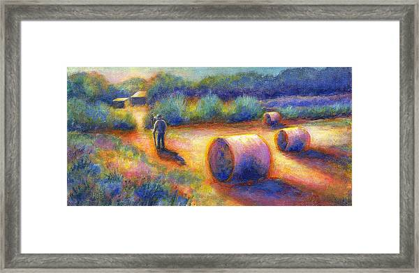 End Of A Well Spent Day Framed Print