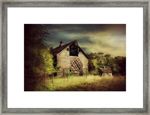 End Of Days Framed Print