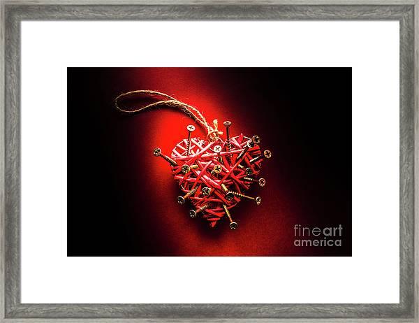 End Of Heartache Framed Print