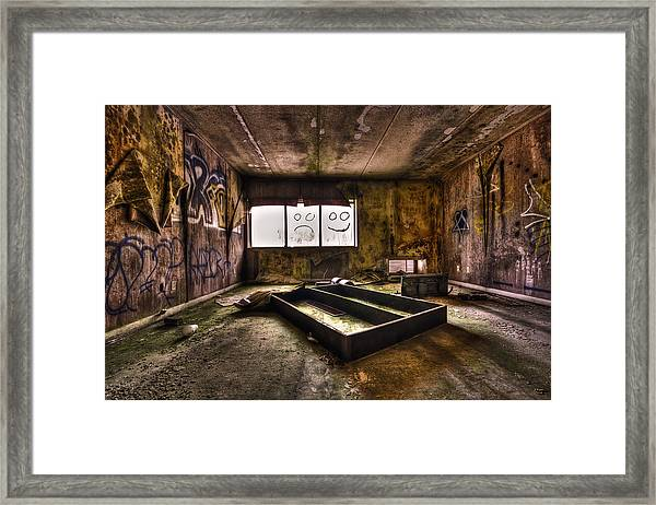 End Of Humanity Framed Print