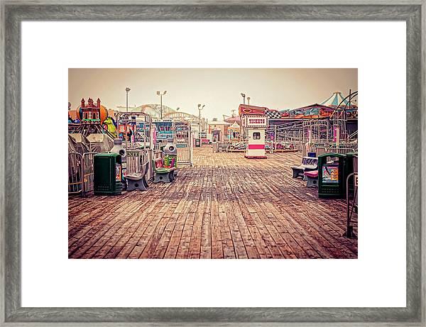 End Of Summer Framed Print
