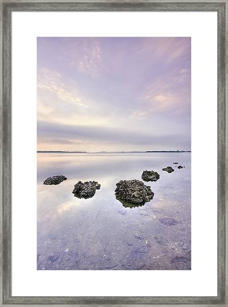 Endless Echoes Framed Print