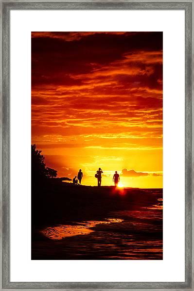 Endless Fiju Framed Print