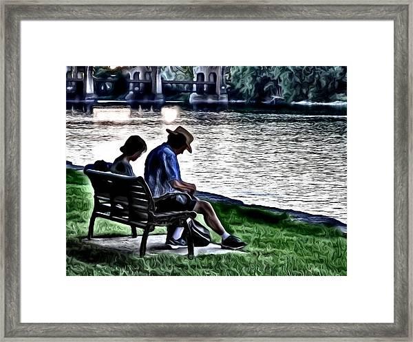 Endless Love Framed Print