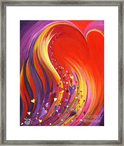 Arise My Love Framed Print