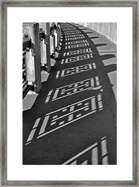 Endless Walkway Framed Print by John Ricker