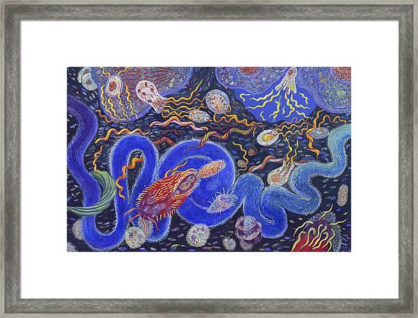 Endosymbiosis Framed Print