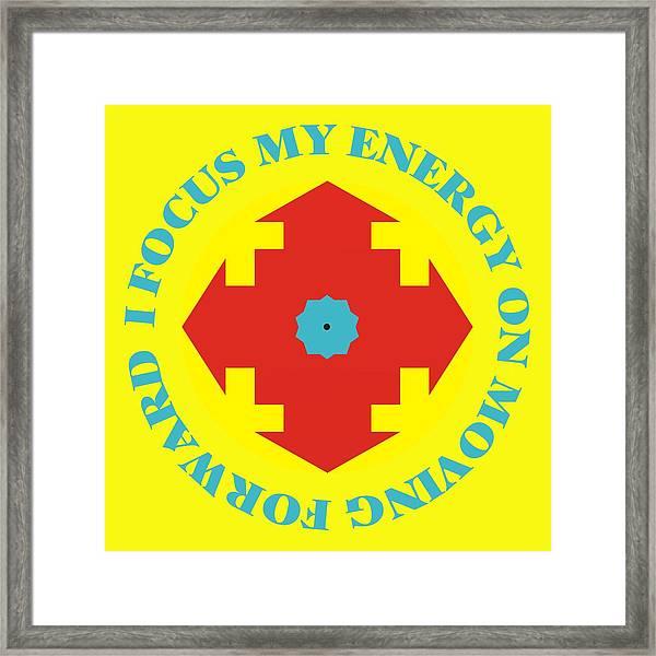 Energy Focus Framed Print