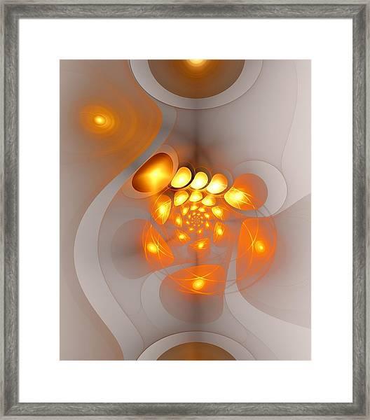 Energy Source Framed Print