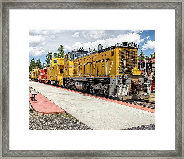 Engine #1042 Framed Print