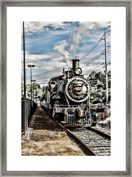 Engine 154 Framed Print