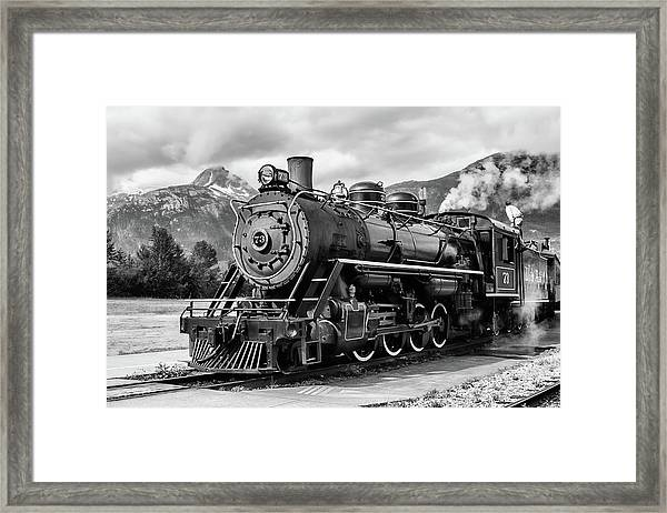 Engine 73 Framed Print