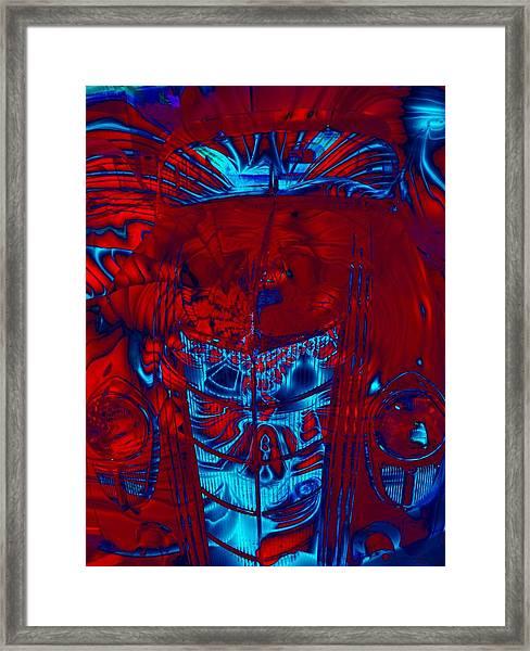 Engine Roar Framed Print by Devalyn Marshall
