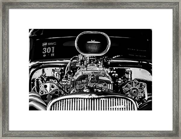 Engine Framed Print