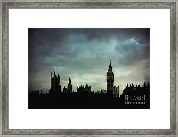 England's Glory Framed Print